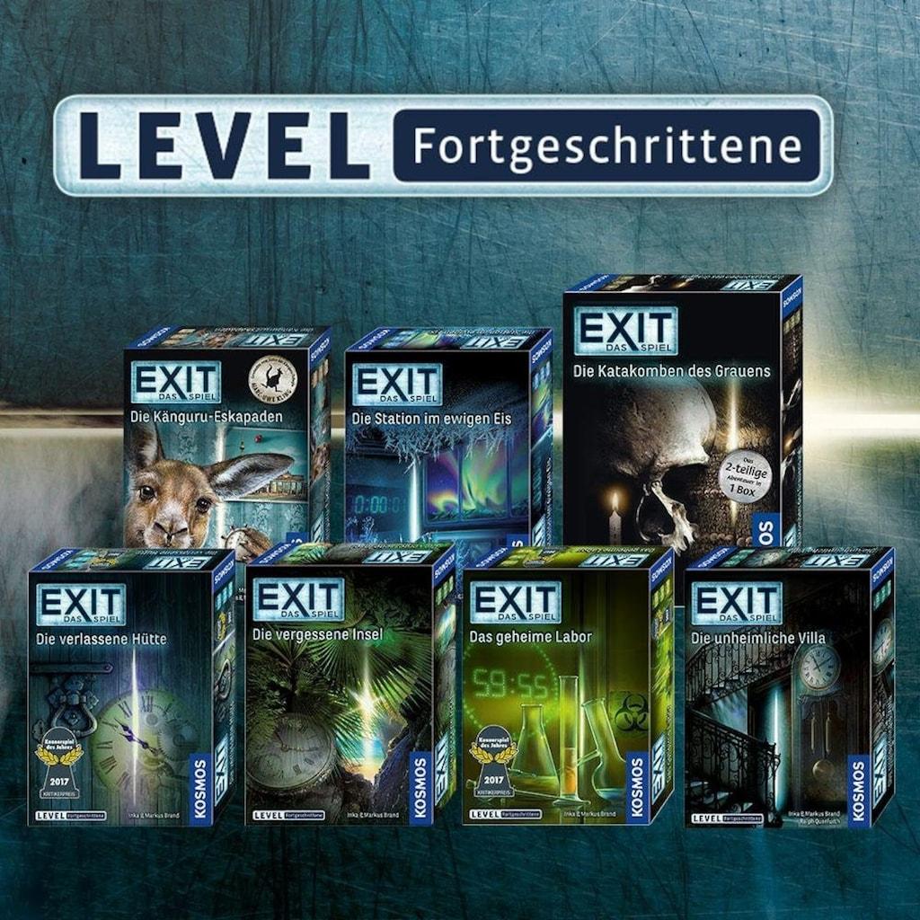 Kosmos Spiel »Exit Das Spiel, Die Station im ewigen Eis«, Made in Germany