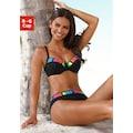 Sunflair Bügel-Bikini, mit bunten Kontrasteinsätzen