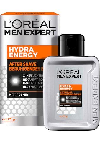 L'ORÉAL PARIS MEN EXPERT After-Shave Balsam »Hydra Energy«, 24H Feuchtigkeit spendend, nicht fettend kaufen