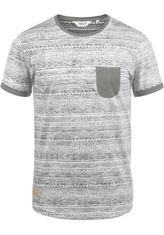 Solid Rundhalsshirt »Ingo«, Kurzarmshirt mit Brusttasche kaufen