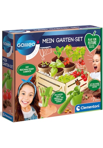 Clementoni® Experimentierkasten »Galileo - Mein Garten-Set«, Made in Europe kaufen