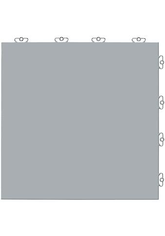 Bergo Flooring Terrassenplatten »Elite grau«, Klickfliesen 2 m² kaufen