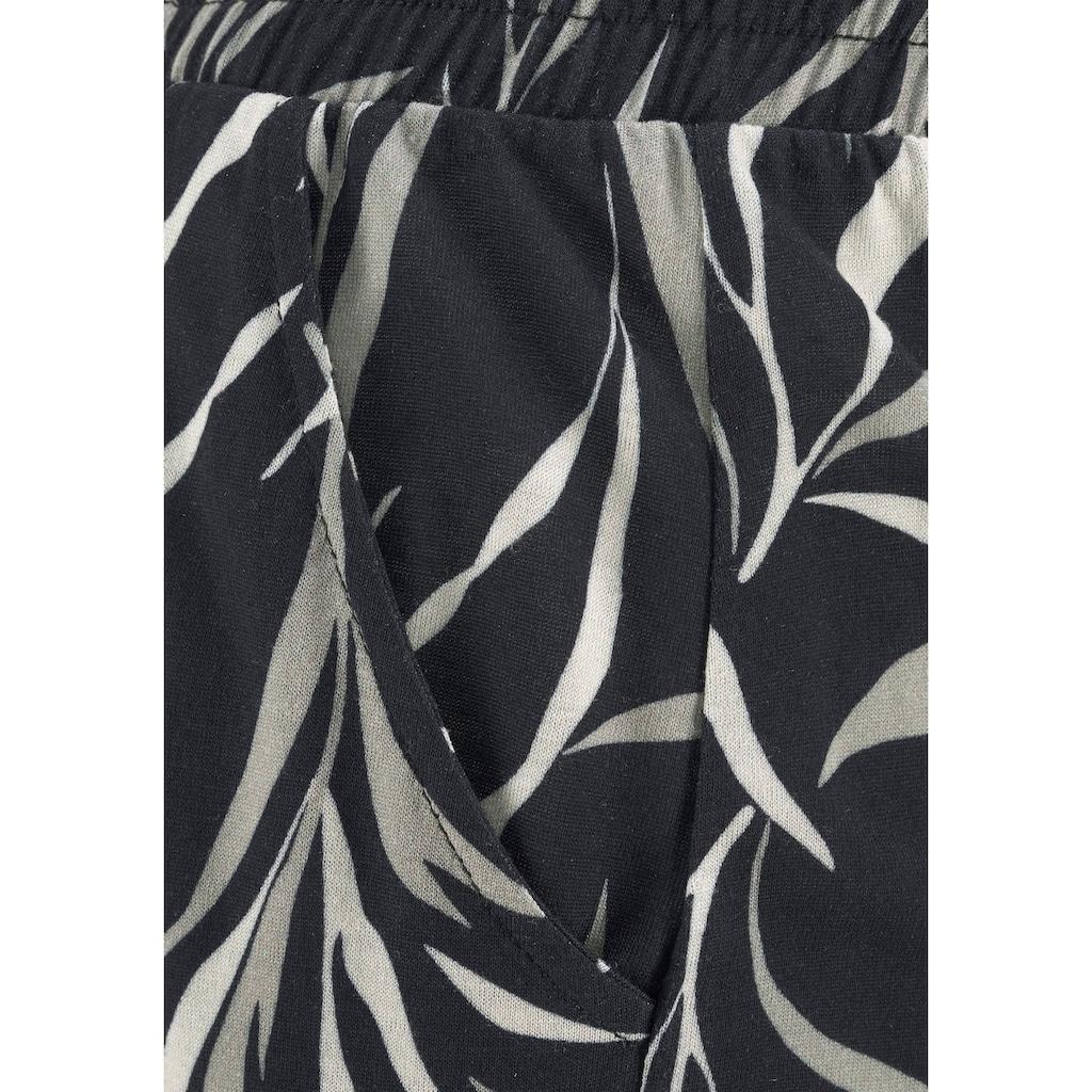Buffalo Strandhose, aus Viskose