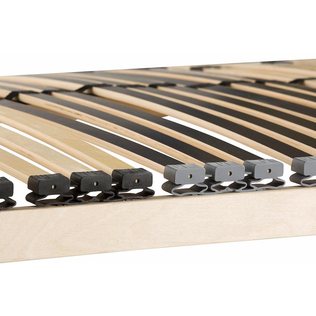 Beco Lattenrost »Heros Fix NV«, 42 Leisten, Kopfteil nicht verstellbar, 7 Zonen-Luxus, Härteregulierung
