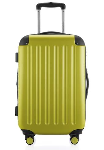 Hauptstadtkoffer Hartschalen-Trolley »Spree, 55 cm, farn«, 4 Rollen kaufen