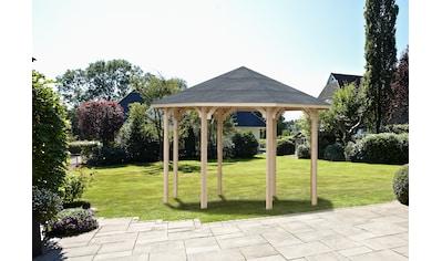 Wolff Holzpavillon »Kreta 8 XL«, BxT: 476x476 cm kaufen
