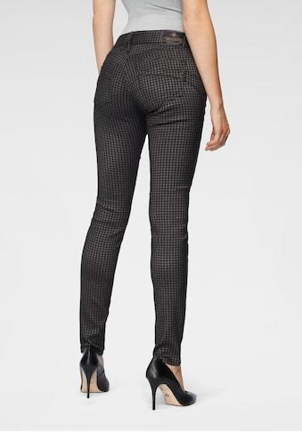 Herrlicher Slim-fit-Jeans »TOUCH SLIM JACQUARD«, im Karo-Trendmuster kaufen