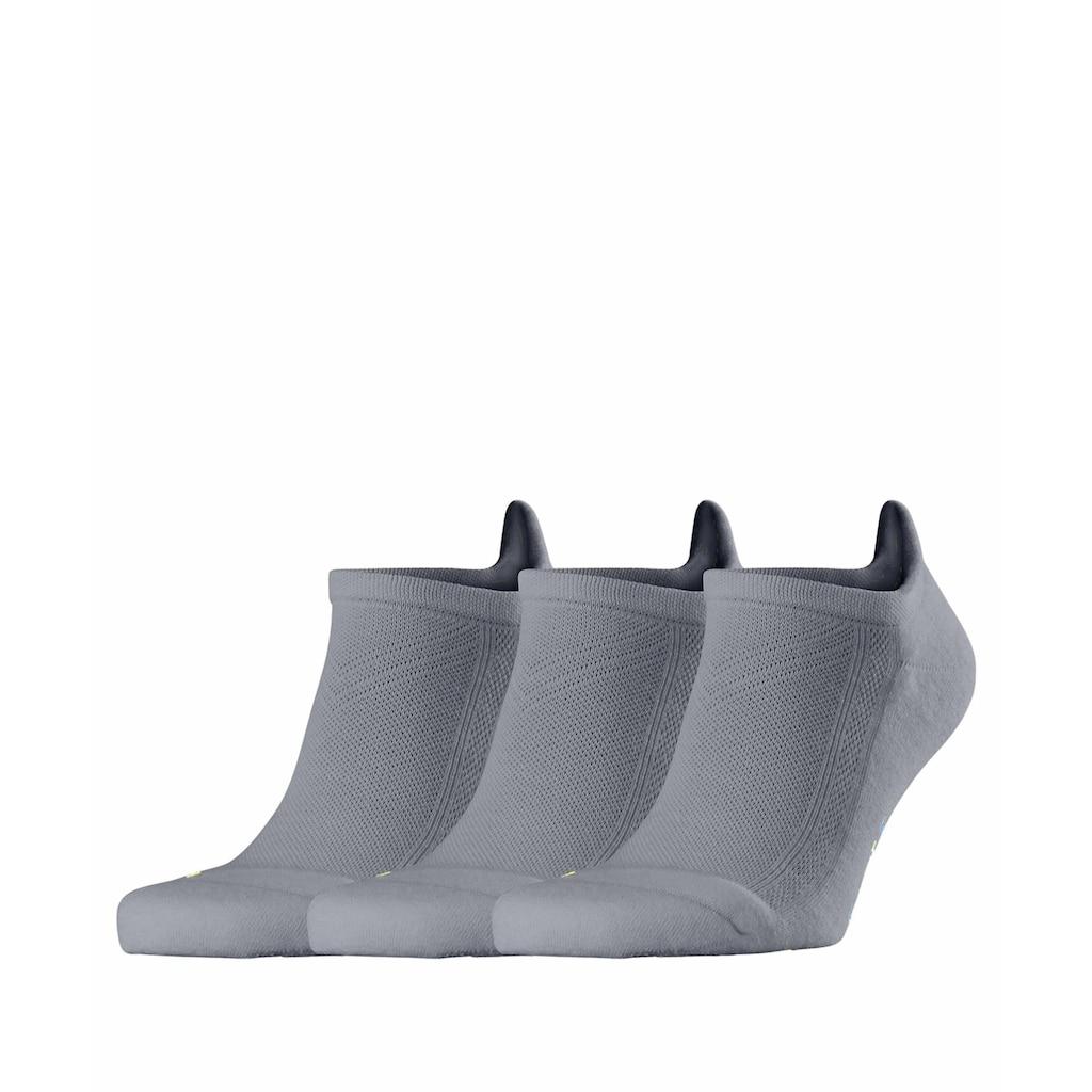 FALKE Sneakersocken »Cool Kick 3-Pack«, (3 Paar), mit ultraleichter Plüschsohle