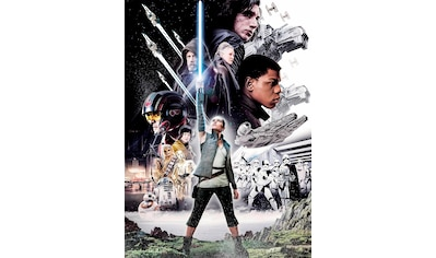 Komar Fototapete »Star Wars – Balance«, bedruckt-Comic, ausgezeichnet lichtbeständig kaufen