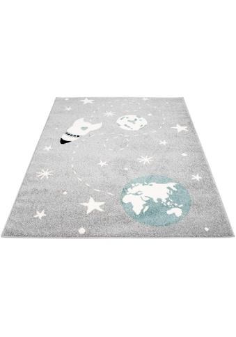 Kinderteppich, »Bubble Kids 1319«, Carpet City, rechteckig, Höhe 11 mm, maschinell gewebt kaufen