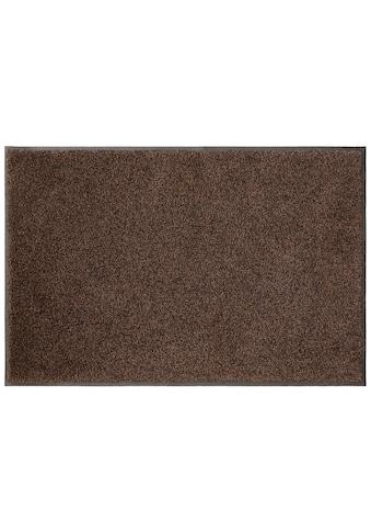 my home Fußmatte »Ember«, rechteckig, 9 mm Höhe, Fussabstreifer, Fussabtreter, Schmutzfangläufer, Schmutzfangmatte, Schmutzfangteppich, Schmutzmatte, Türmatte, Türvorleger, In- und Outdoor geeignet kaufen