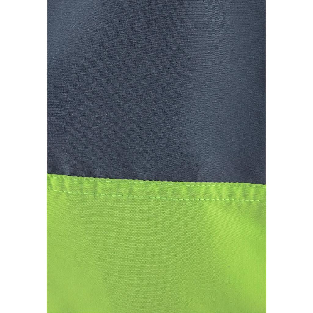 Chiemsee Badeshorts, mit Kontrasteinsatz und Markenschriftzug
