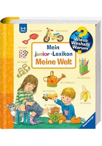 Ravensburger Buch »Mein junior-Lexikon: Meine Welt - Wieso? Weshalb? Warum?«, Made in Europe kaufen