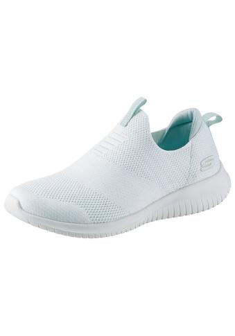 Skechers Slip-On Sneaker »Ultra Flex - Candy Cravings«, mit feinem Glitzer kaufen