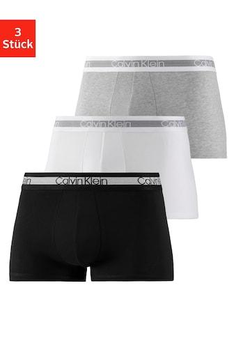 Calvin Klein Boxer »Cooling«, (3 St.), fein gestreifter Taillenbund kaufen