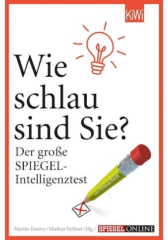 Buch »Wie schlau sind Sie? / Markus Verbeet, Martin Doerry« kaufen