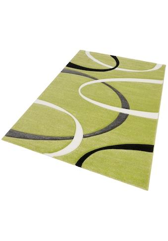 my home Teppich »Bilbao«, rechteckig, 13 mm Höhe, mit handgearbeitetem... kaufen