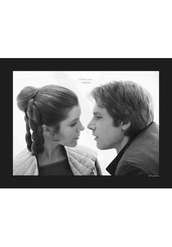 Komar Poster »Star Wars Classic Leia Han Love«, Star Wars kaufen