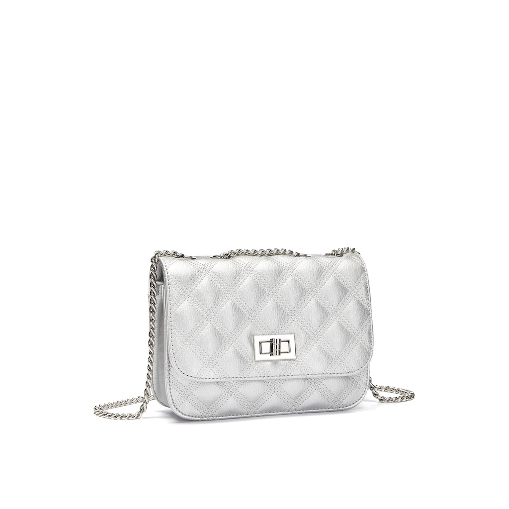 LASCANA Umhängetasche, Handtasche im Mini-Format mit Kettenhenkel