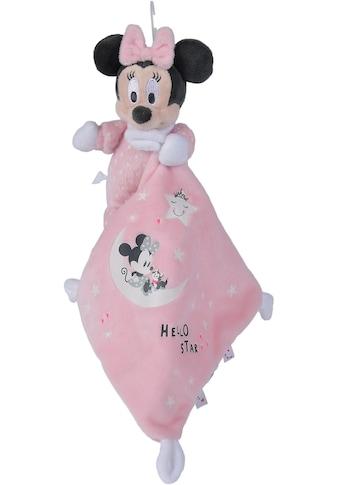 SIMBA Schmusetuch »Disney Minnie Glow in the dark, Starry Night«, mit leuchtenden... kaufen