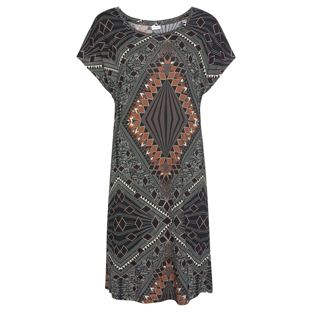 LASCANA Nachthemd, mit Ethno-Muster