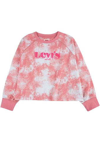 Levi's Kidswear Langarmshirt, Baticmuster mit Logodruck kaufen