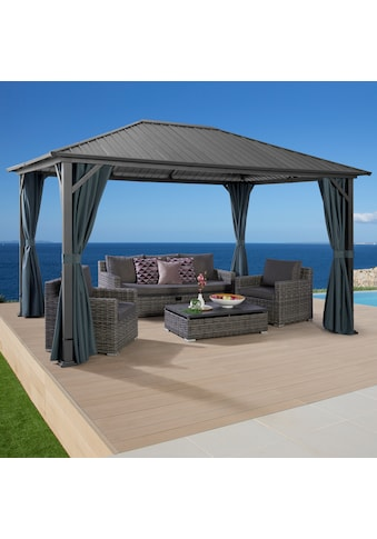 KONIFERA Pavillon »Samos«, BxT: 300x400 cm, ohne Seitenteile kaufen