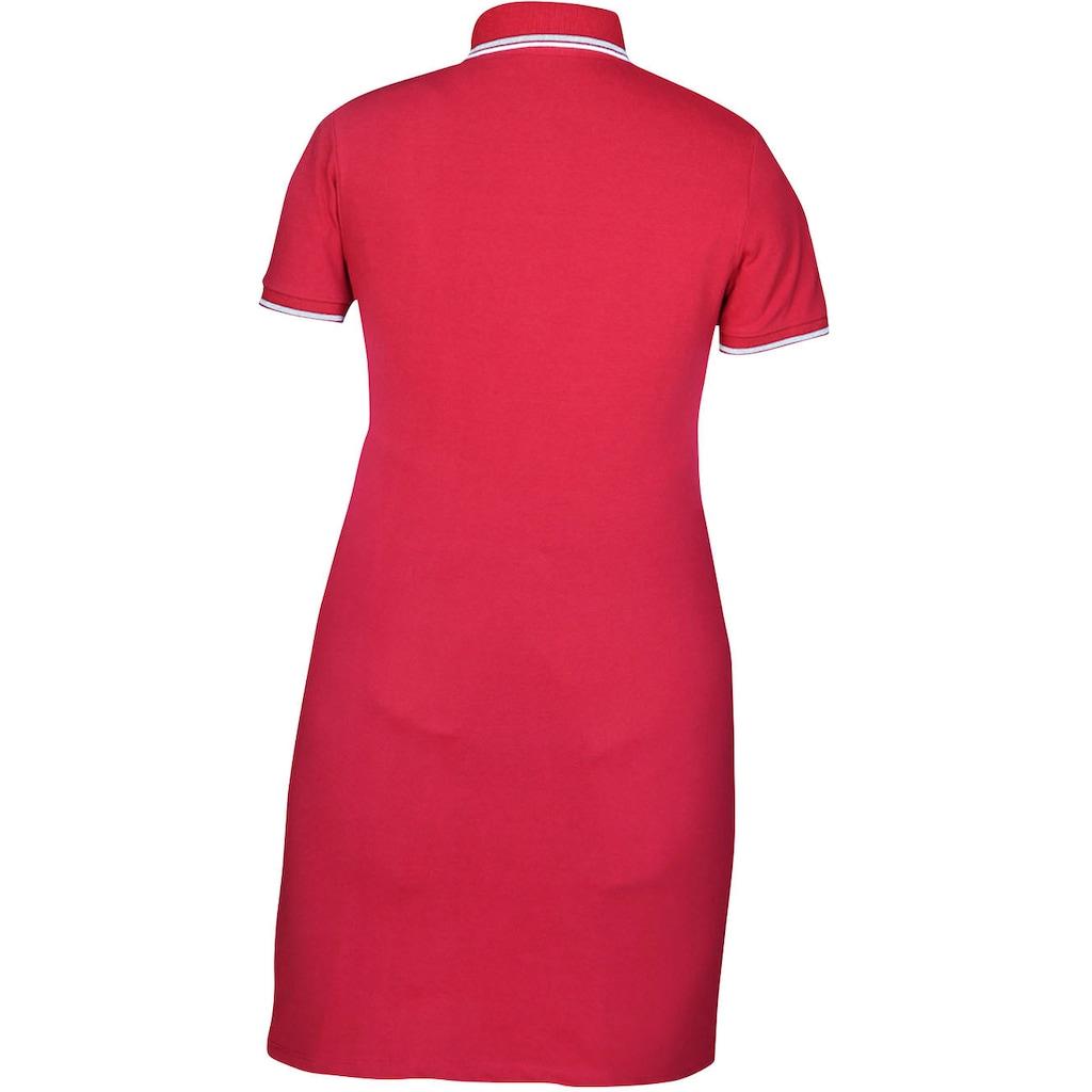 Kaporal Shirtkleid »PIKA«, mit typischem Polokragen