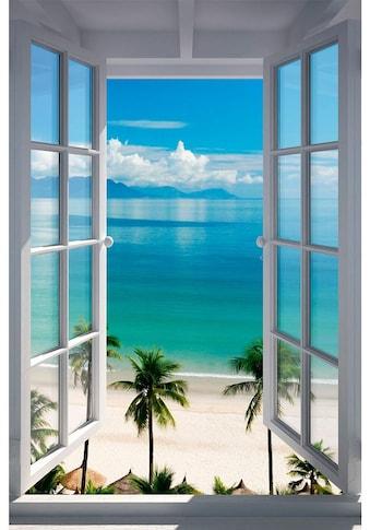 Home affaire Bild »Strand Fenster« kaufen