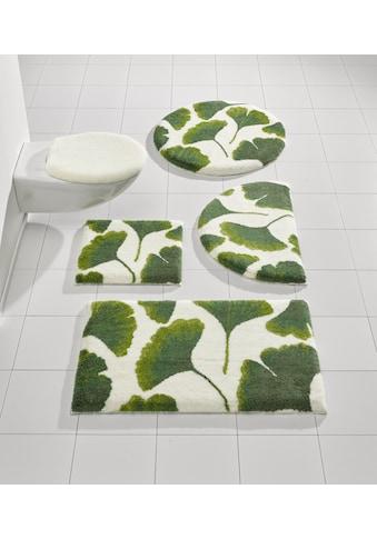 Badgarnitur mit Ginkgo - Blätter - Design kaufen