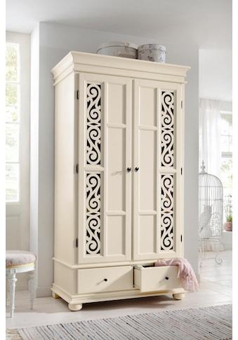 Premium collection by Home affaire Drehtürenschrank »Arabeske«, aus teilmassivem Holz... kaufen