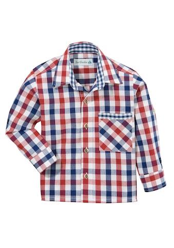 Isar-Trachten Trachtenhemd, in Karo-Optik kaufen