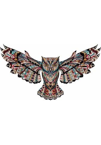 Wall-Art Wandtattoo »Metallic Owl« kaufen