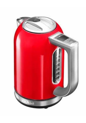 KitchenAid Wasserkocher »5KEK1722EER«, 1,7 l, 2400 W, empire rot kaufen
