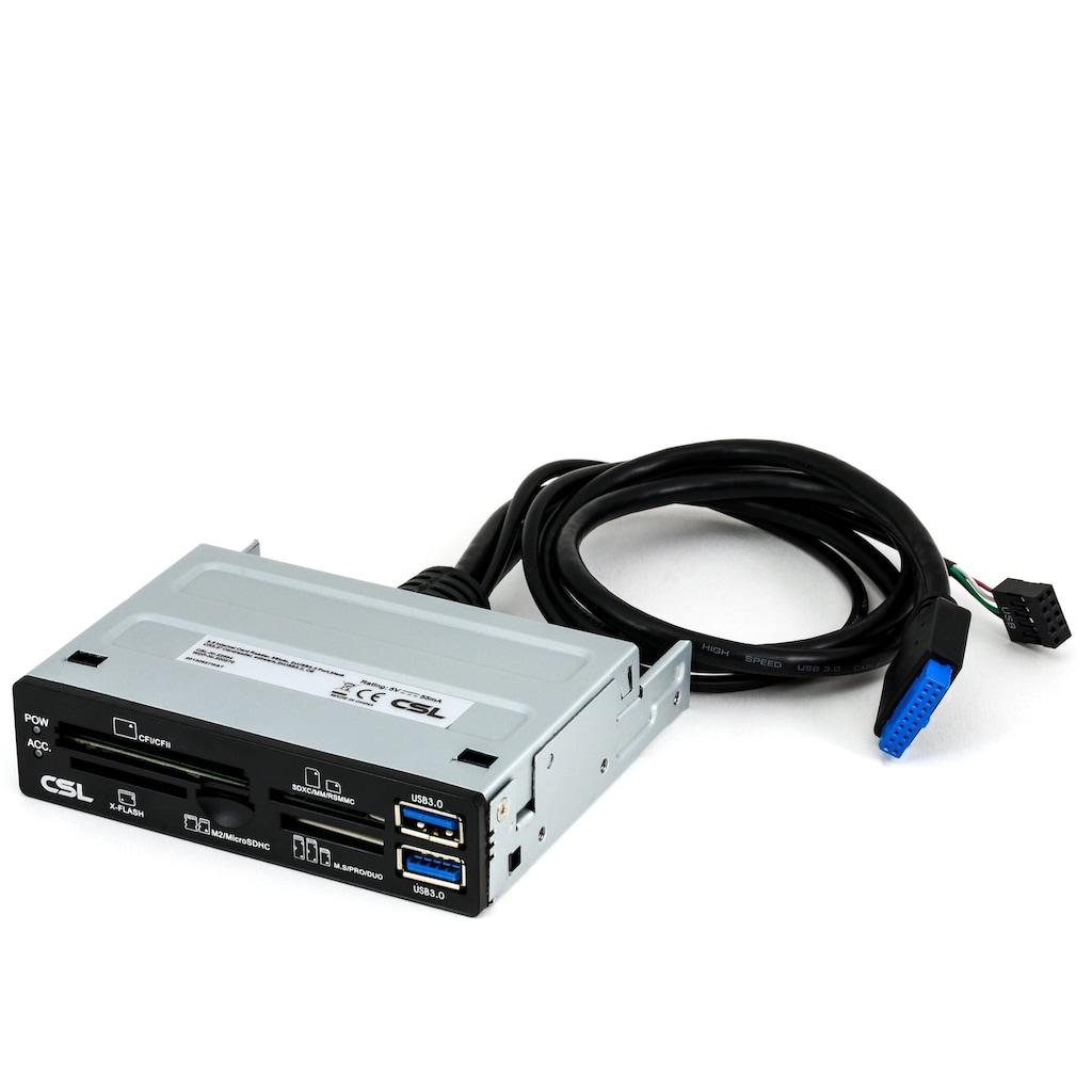 """CSL 3,5"""" Multi-Frontpanel Cardreader mit USB 3.0"""