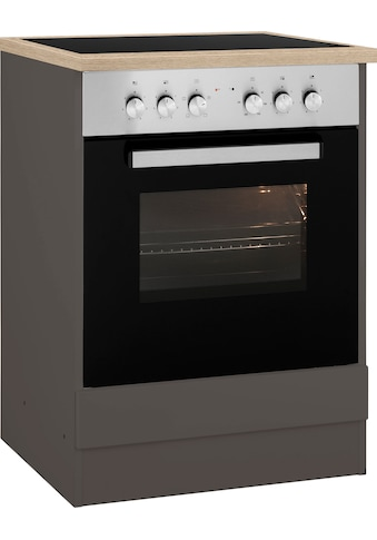 HELD MÖBEL Herdumbauschrank »Virginia«, 85 cm hoch, 60 cm breit, Nische für Ofen... kaufen