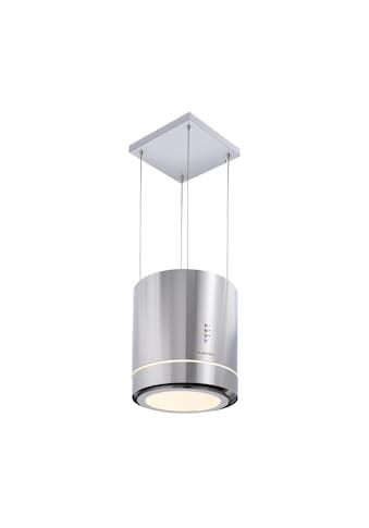 Klarstein Inselabzugshaube Ø38cm Umluft 540m³/h LED Edelstahl kaufen
