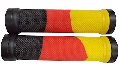 Point Fahrradlenkergriff, (2 St., Paar), schwarz-rot-gold optik kaufen
