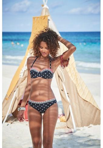 LASCANA Bikini-Hose »Kimer«, mit modernem Print kaufen