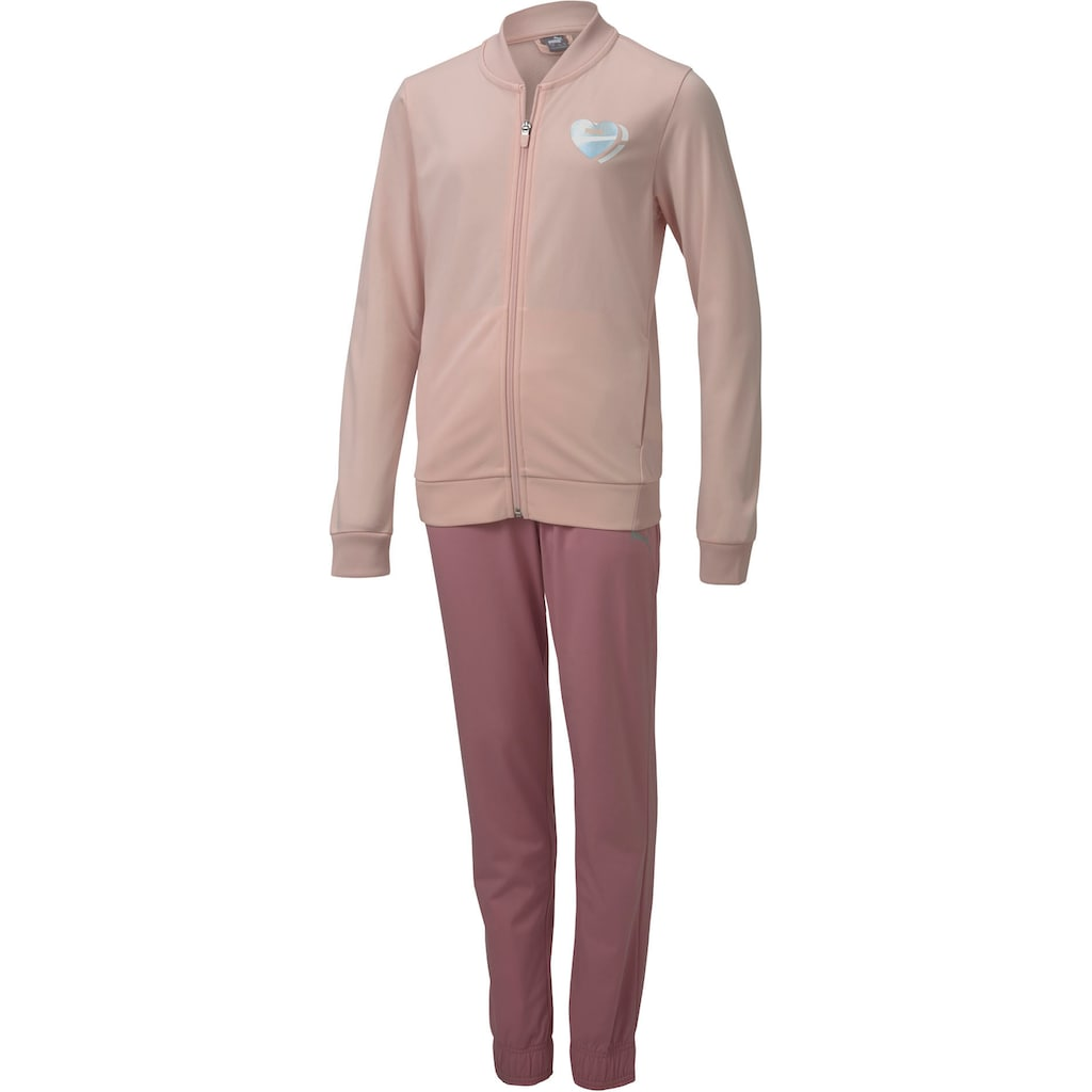 PUMA Trainingsanzug »TRACKSUIT GIRLS«, (Set, 2 tlg.)