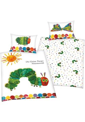 Babybettwäsche »Die kleine Raupe Nimmersatt«, mit tollem Motiv kaufen