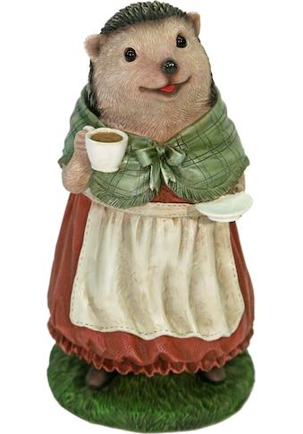 Casa Collection by Jänig Tierfigur »Frau Igel im Kleid trinkt Kaffee« kaufen