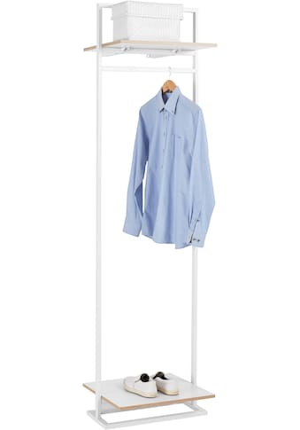 andas Garderobenständer »Isere«, mit 1 Kleiderstange und 1 oberen Ablageboden kaufen
