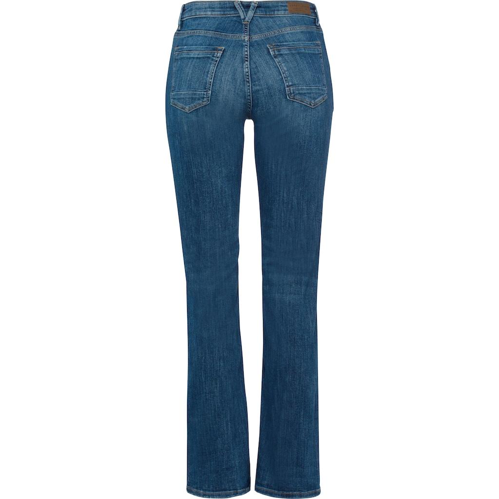 Esprit 5-Pocket-Jeans, mit leicht ausgestellten Hosenbeinen