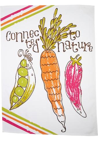 stuco Geschirrtuch »Veggies«, (Set, 3 tlg.), bedruckt kaufen