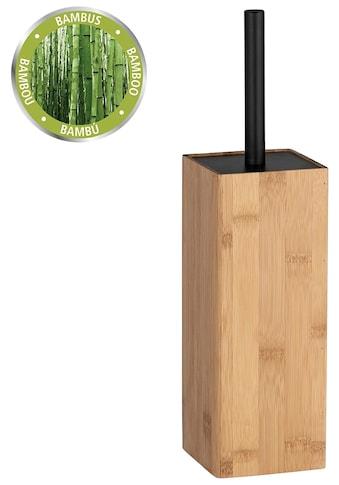 WENKO WC-Garnitur »Padua«, Bambus kaufen