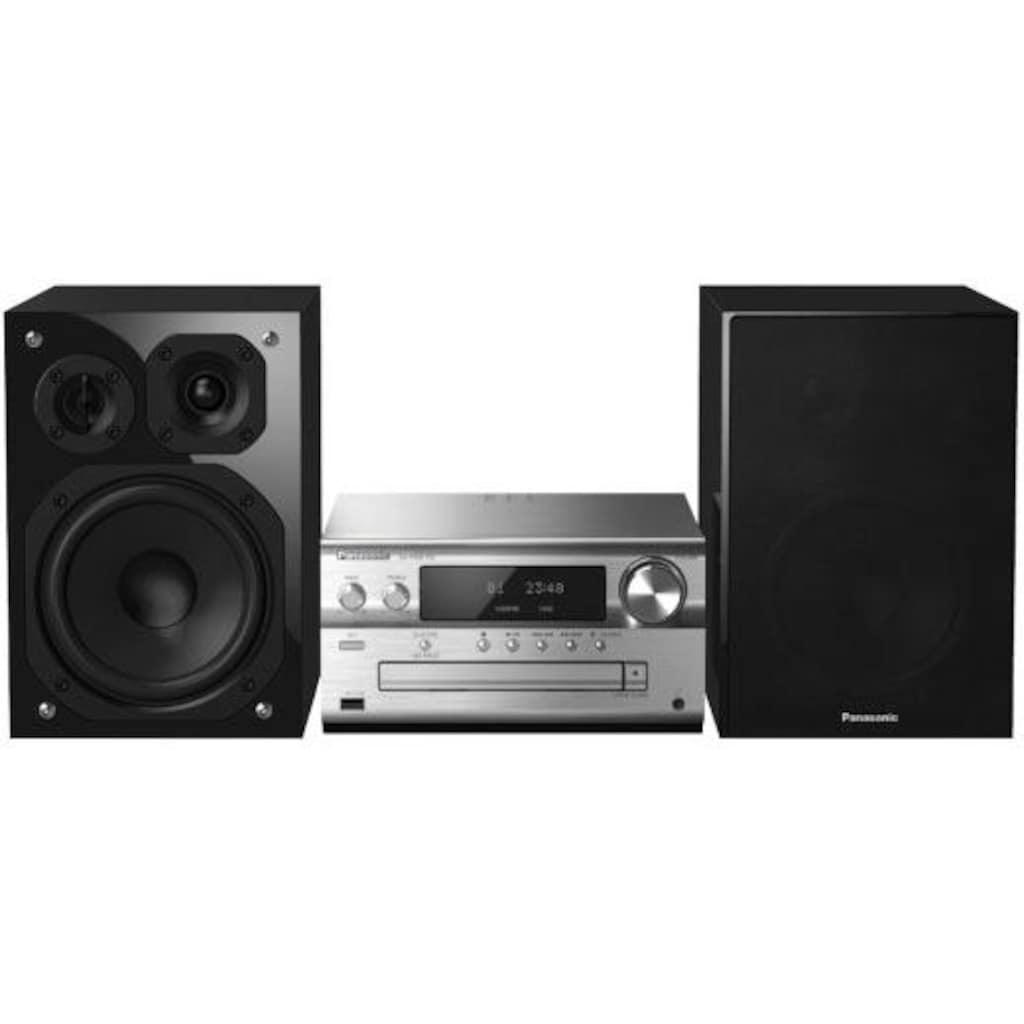 Panasonic Microanlage »SC-PMX152«, (WLAN-Bluetooth-LAN (Ethernet) Internetradio-Digitalradio (DAB+)-FM-Tuner mit RDS 120 W), Panasonic Music Streaming App