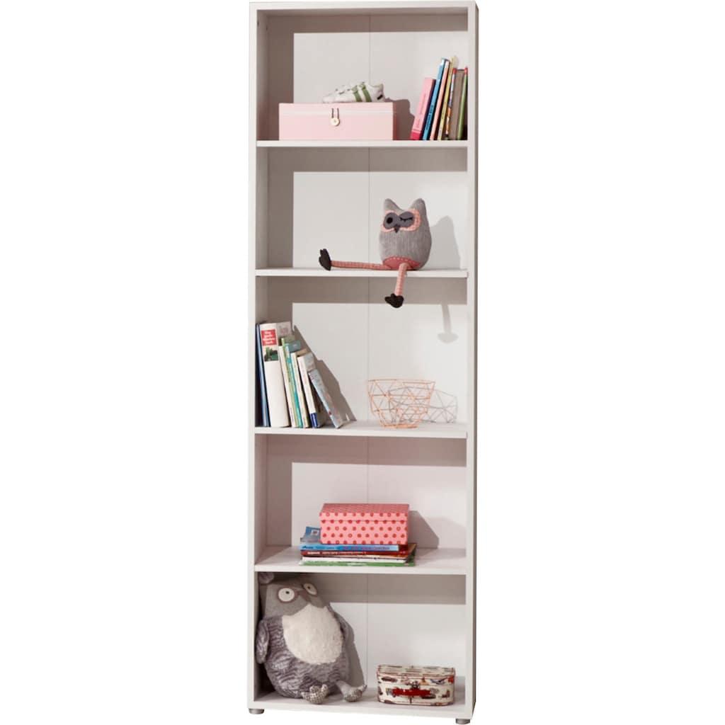arthur berndt Jugendzimmer-Set »Insa« (Set, 5-tlg Bett + Eckkleiderschrank + Schreibtisch + Standregal + Lowboard)