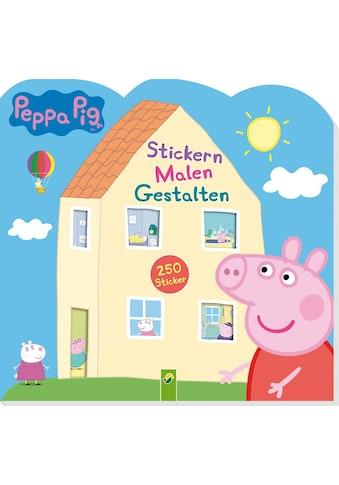 Buch »Peppa Pig Stickern Malen Gestalten / DIVERSE« kaufen