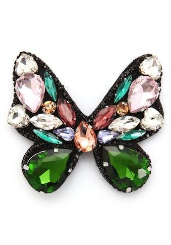 J.Jayz Brosche »Schmetterling mit Anstecknadel, bunt«, mit Glassteinen kaufen